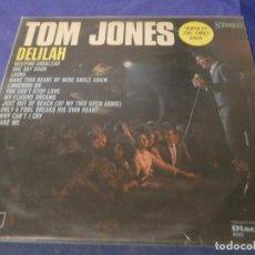 Discos de vinilo: LP TOM JONES DELILAH DISCOLIBRO ESPAÑA 1968 LABEL NARANJA ESTADO MUY CORRECTO SOLO ALGUNA MICROLINEA. Lote 201558845
