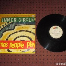Discos de vinilo: INNER CIRCLE - GAMES PEOPLE PLAY - MAXI - GERMANY - WARNER - PLS 844 - L - . Lote 201560767