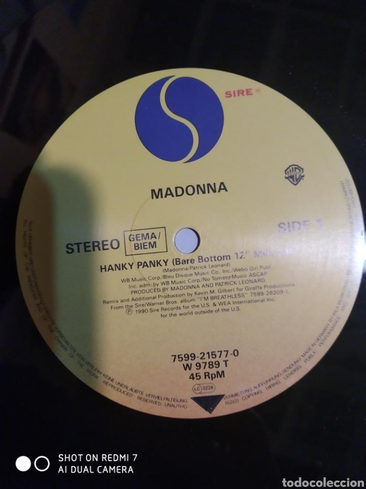 Discos de vinilo: Madonna. Hanky panky. Maxi single. - Foto 2 - 201563247
