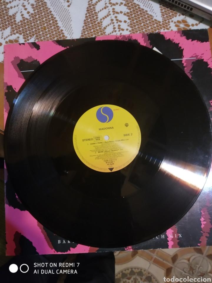 Discos de vinilo: Madonna. Hanky panky. Maxi single. - Foto 4 - 201563247