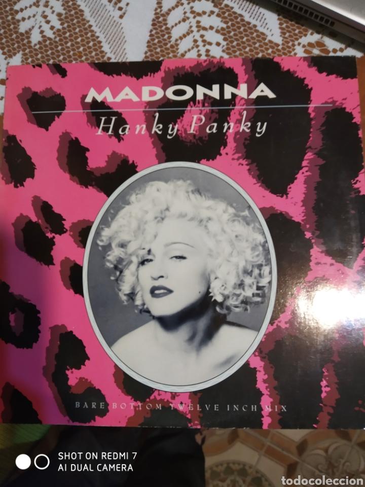 MADONNA. HANKY PANKY. MAXI SINGLE. (Música - Discos de Vinilo - Maxi Singles - Pop - Rock Extranjero de los 90 a la actualidad)