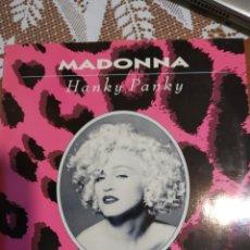 Discos de vinilo: MADONNA. HANKY PANKY. MAXI SINGLE.. Lote 201563247