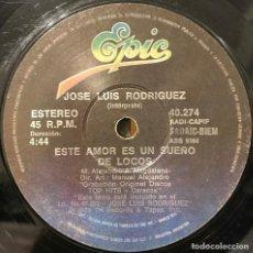 Discos de vinilo: SENCILLO ARGENTINO DE JOSÉ LUIS RODRÍGUEZ AÑO 1979. Lote 201563321