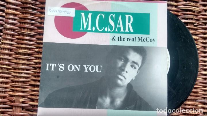 SINGLE ( VINILO) -PROMOCION- M .C .SAR & THE REAL MC COY AÑOS 90 (Música - Discos - Singles Vinilo - Rap / Hip Hop)