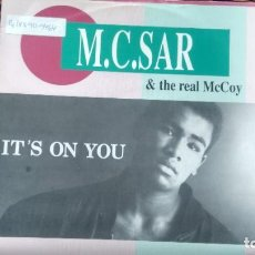 Dischi in vinile: SINGLE ( VINILO) -PROMOCION- M .C .SAR & THE REAL MC COY AÑOS 90. Lote 201588325
