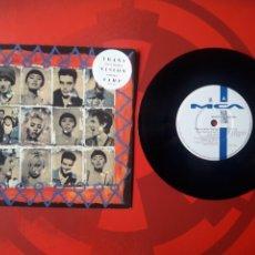 Discos de vinilo: TRANSVISION VAMP - SINGLE VINILO (I JUST WANNA) B WITH U. 1991. INGLATERRA. MCA TVV 10. Lote 201592050
