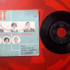 Discos de vinilo: LOS TNT - EP VINILO PAZ. 1963. RCA VICTOR 3-20699. Lote 201594178