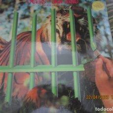 Discos de vinilo: TYGERS OF PAN TANG - THE CAGE LP - ORIGINAL INGLES - MCA RECORDS 1982 CON FUNDA INT. ORIGINAL. Lote 201607920