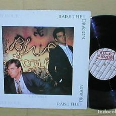 Discos de vinilo: RAISE THE DRAGON SPAIN MAXI SINGLE 1984 THE BLUE HOUR ELECTRONIC SYNTH POP ROCK ILLEGAL RECORDS MIRA. Lote 201610586