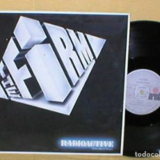 Discos de vinilo: THE FIRM SPAIN MAXI SINGLE 1985 RADIOACTIVE JIMMY PAGE PAUL RODGERS EX LED ZEPPELING HARD BLUES ROCK. Lote 201611602