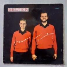 Discos de vinilo: NINA Y FREDERIK. TRISTE VIDA. BELTER 50.161. 1968 ESPAÑA. FUNDA VG+. DISCO VG++.. Lote 201611920