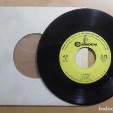 Discos de vinilo: SINGLE - GIANNI MECCIA - A: QUANTA PAURA - B: IL BARATTOLO - RCA. Lote 201615557
