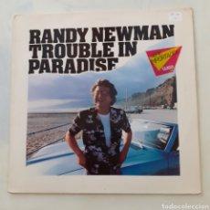 Discos de vinilo: RANDY NEWMAN. TROUBLE IN PARADISE. WB 92.3755-1. GERMANY 1983. FUNDA VG++. DISCO VG++.. Lote 201622676