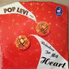 Discos de vinilo: POP LEVI SINGS REINDEER IN MY HEART - HAYLEY SQUARE . Lote 201643120