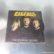 Discos de vinilo: THE BEE GEES --- STAYING ALIVE & THE WOMAN IN YOU ---MINT ( M ). Lote 180959692