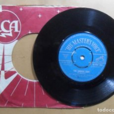 Disques de vinyle: SINGLE - RAY CHARLES - A: THE DANGER ZONE - B: HIT THE ROAD JACK - TANGERINE MUSIC - 1961. Lote 201651656