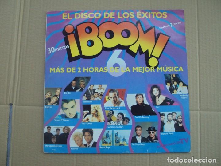 ¡BOOM! 6. DOBLE LP EDICION ESPAÑOLA 1990 EMI-ODEON (Música - Discos de Vinilo - Maxi Singles - Pop - Rock - New Wave Internacional de los 80)