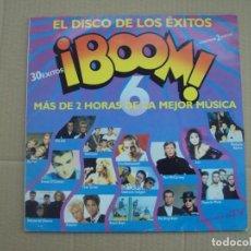 Discos de vinilo: ¡BOOM! 6. DOBLE LP EDICION ESPAÑOLA 1990 EMI-ODEON. Lote 201656860