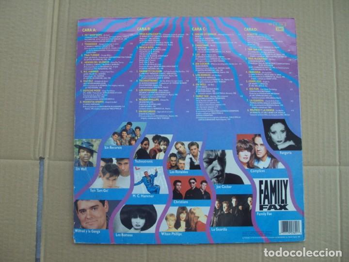 Discos de vinilo: ¡BOOM! 6. DOBLE LP EDICION ESPAÑOLA 1990 EMI-ODEON - Foto 2 - 201656860