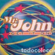 Discos de vinilo: MR. JOHN - GET IT ON. Lote 201658926
