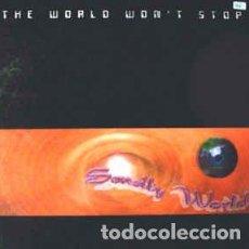 Discos de vinilo: SENSITY WORLD - THE WORLD WON'T STOP. Lote 201659081