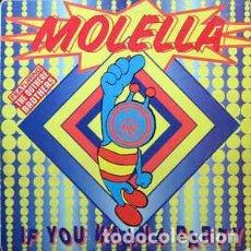 Discos de vinilo: MOLELLA - IF YOU WANNA PARTY. Lote 201659623