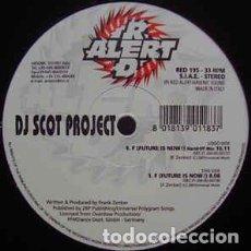 Discos de vinilo: DJ SCOT PROJECT - F (FUTURE IS NOW !). Lote 201659990