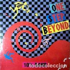 Discos de vinilo: 10% BAND - ONE STEP BEYOND. Lote 201660312