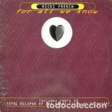 Discos de vinilo: NICKI FRENCH - FOR ALL WE KNOW. Lote 201661225