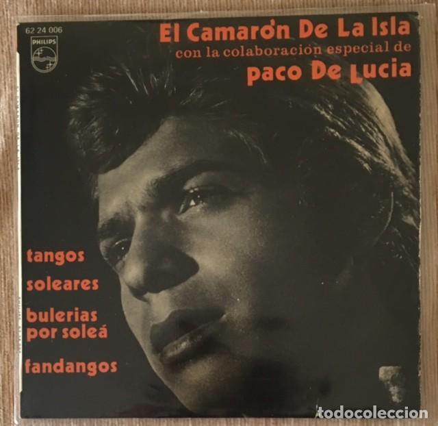 CAMARÓN DE LA ISLA Y PACO DE LUCÍA (Música - Discos de Vinilo - EPs - Flamenco, Canción española y Cuplé)