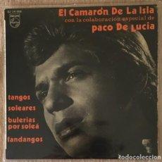 Discos de vinilo: CAMARÓN DE LA ISLA Y PACO DE LUCÍA . Lote 201661487