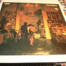 Discos de vinilo: LP ABBA. THE VISITORS. CARNABY 1981 SPAIN CON FUNDA INTERNA ORIGINAL (PROBADO Y BIEN, SEMINUEVO). Lote 201662643