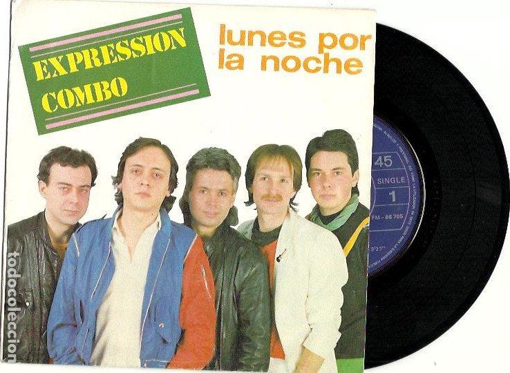 EXPRESSION COMBO. LUNES POR LA NOCHE (VINILO EP 1984) (Música - Discos de Vinilo - EPs - Grupos Españoles de los 70 y 80)