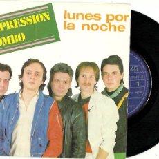 Discos de vinilo: EXPRESSION COMBO. LUNES POR LA NOCHE (VINILO EP 1984). Lote 201670895