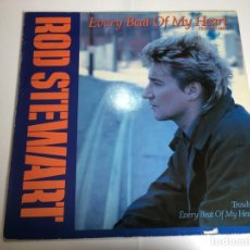 Discos de vinilo: VINILO MAXI ROD STEWART - EVERY BEAT OF MY HEART - TROUBLE . Lote 201671226