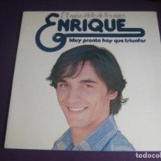 Dischi in vinile: ENRIQUE ( Y ANA) LP HISPAVOX 1977 - MUY PRONTO HAY QUE TRIUNFAR - TVE TELEVISION - SU 1ER LP . Lote 201673895