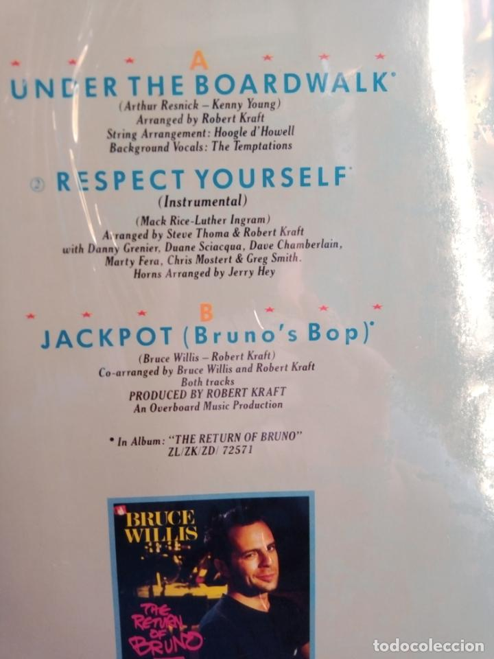 Discos de vinilo: BRUCE WILLIS -UNDER THE BOADRWALK-MAXI-SINGLE- - Foto 2 - 201674687