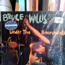 Discos de vinilo: BRUCE WILLIS -UNDER THE BOADRWALK-MAXI-SINGLE-. Lote 201674687