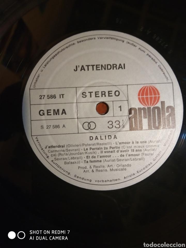 Discos de vinilo: Dalida jattendrai - Foto 2 - 201687478