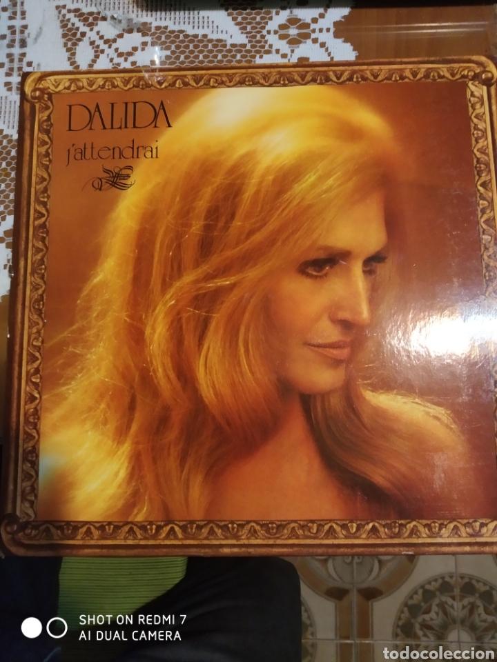 DALIDA J'ATTENDRAI (Música - Discos - LP Vinilo - Canción Francesa e Italiana)