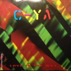 Discos de vinilo: C-YA ?– LOVE IS THE WAY - 1997 BOY RECORDS. Lote 201688788