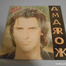 Discos de vinil: MIKE OLDFIELD - AMAROK - SIN ABRIR. Lote 201689940
