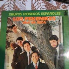 Discos de vinilo: LOS PEKENIKES. HILO DE SEDA.. Lote 201704610