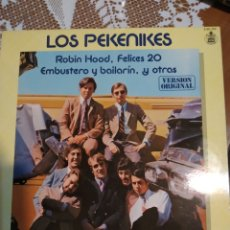 Discos de vinilo: LOS PEKENIKES.ROBIN HOOD. Lote 201704907