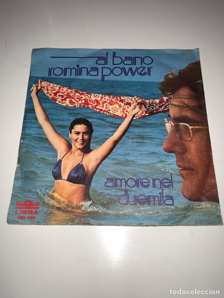 Discos de vinilo: Al bano y Romina power diálogo single sello libra 1975 - Foto 2 - 201705081