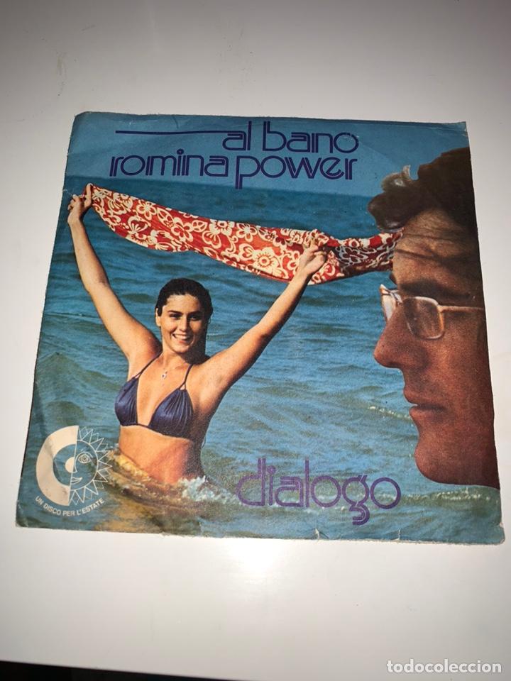 AL BANO Y ROMINA POWER DIÁLOGO SINGLE SELLO LIBRA 1975 (Música - Discos - Singles Vinilo - Canción Francesa e Italiana)