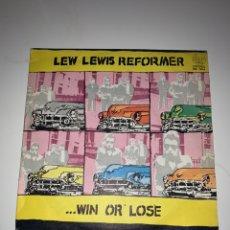 Discos de vinilo: LEW LEWIS REFORMER 1979 WIN OR LOSE. Lote 201705178