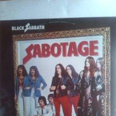Discos de vinilo: BLACK SABBATH - SABOTAGE. Lote 201711223