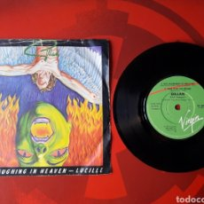 Discos de vinilo: GILLAN - SINGLE VINILO NO LAUGHING IN HEAVEN. INGLATERRA 1981. VS425. Lote 201711455