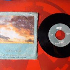Discos de vinilo: ORCHESTRAL MANOEUVRES IN THE DARK - SINGLE VINILO ENOLA GAY. ESPAÑA 1981. DINDISC A-102.454. Lote 201712188